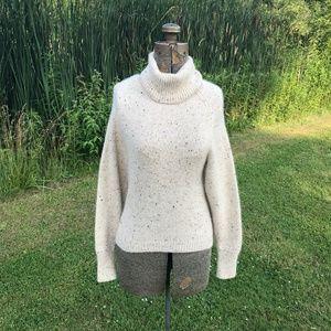 Vince Knit Cashmere Turtleneck Sweater
